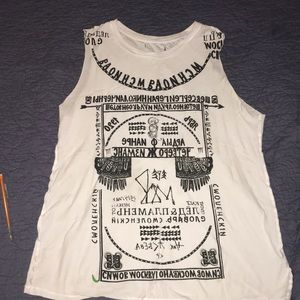 Graphic muscle tee